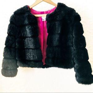 🌿La Belle | Faux Fur Bolero Jacket